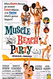 Muscle Beach Party(1964) Poster - Movie Forum, Cast, Reviews
