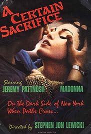 A Certain Sacrifice Poster