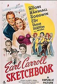Earl Carroll Sketchbook Poster
