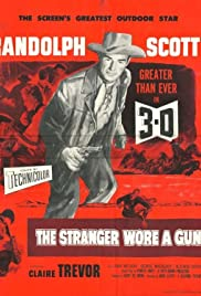 The Stranger Wore a Gun Poster