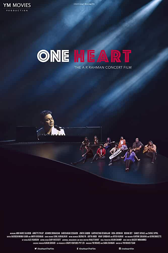 One Heart 2017 English 720p HDRip 900MB
