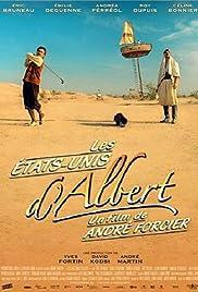 Les états-Unis d'Albert Poster