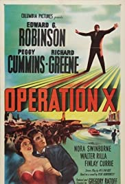 Operation X Poster