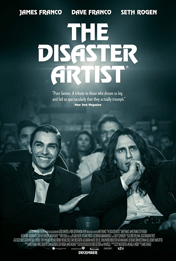 The Disaster Artist cartel de la película