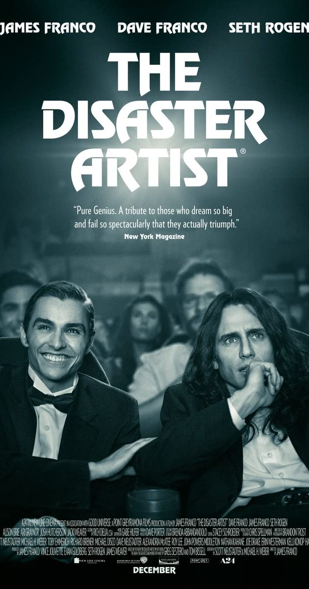 Image result for the disaster artist movieposter  images
