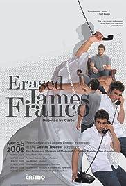 Erased James Franco Poster