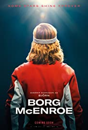 Borg/McEnroe(2017) Poster - Movie Forum, Cast, Reviews