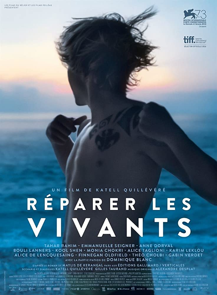 Réparer les vivants poster do filme