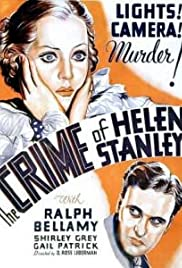 The Crime of Helen Stanley Poster