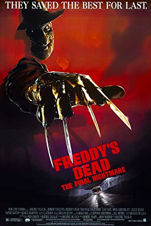 Poster Freddys Finale - Nightmare on Elmstreet 6