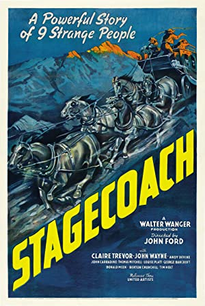 Stagecoach (1939) HD 720P