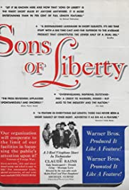 Sons of Liberty(1939) Poster - Movie Forum, Cast, Reviews