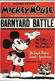 The Barnyard Battle Poster