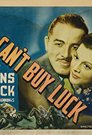 You Can't Buy Luck Poster