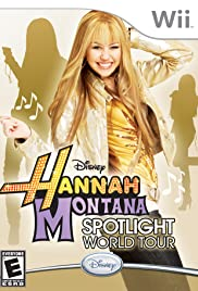 Hannah Montana: Spotlight World Tour Poster