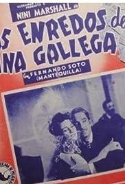 Los enredos de una gallega Poster