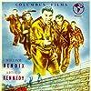 William Bendix, Gene Evans, Arthur Kennedy, William Talman, and Marshall Thompson in Crashout (1955)