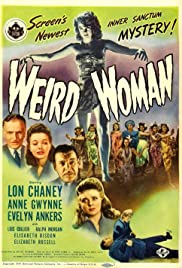 Weird Woman (1944) Poster - Movie Forum, Cast, Reviews
