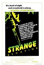 Strange Behavior(1981) Poster - Movie Forum, Cast, Reviews