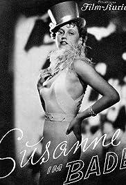 Susanne im Bade Poster