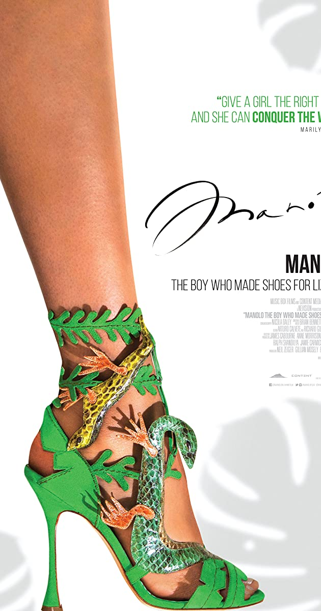 Manolo the boy who made shoes for lizards 2017 imdb for Who is manolo blahnik