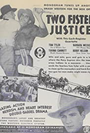 Two Fisted Justice Poster