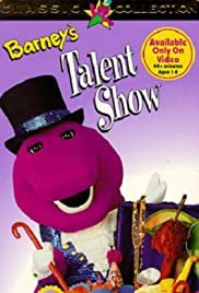 Barney's Talent Show Poster