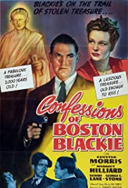 Confessions of Boston Blackie (1941) Poster - Movie Forum, Cast, Reviews