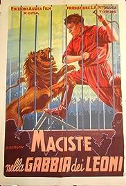 Maciste nella gabbia dei leoni Poster