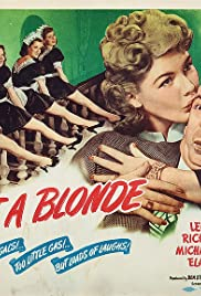 What a Blonde Poster