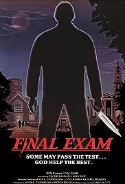 Final Exam(1981) Poster - Movie Forum, Cast, Reviews