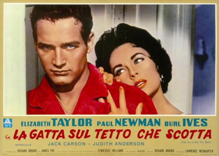Captivating Cat On A Hot Tin Roof (1958)