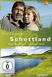 Ein Sommer in Schottland Poster