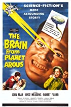 The Brain from Planet Arous (1957) Poster