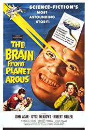 The Brain from Planet Arous Poster