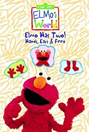 Elmo's World: Elmo Has Two! Hands, Ears & Feet Poster