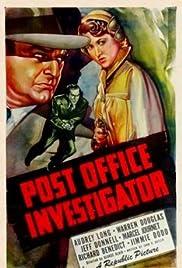 Post Office Investigator Poster