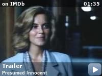 Exceptional Presumed Innocent (1990)   IMDb Regarding Cast Of Presumed Innocent