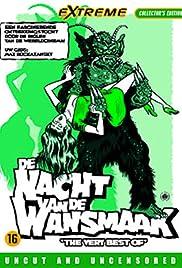 De nacht van de wansmaak Poster