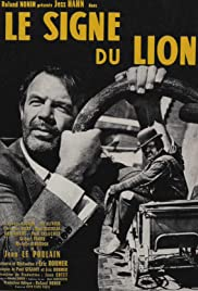 Le signe du lion (1962) Poster - Movie Forum, Cast, Reviews