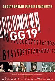 GG 19 - Eine Reise durch Deutschland in 19 Artikeln Poster