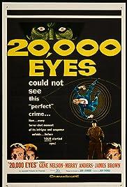 20,000 Eyes Poster