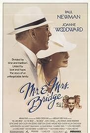 Mr. & Mrs. Bridge(1990) Poster - Movie Forum, Cast, Reviews