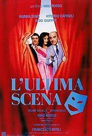 L'ultima scena Poster