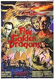Five Golden Dragons(1967) Poster - Movie Forum, Cast, Reviews
