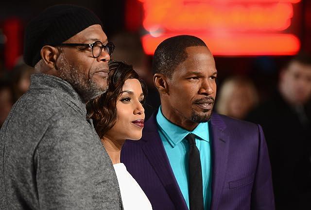 Samuel L. Jackson, Jamie Foxx, and Kerry Washington at Django Unchained (2012)