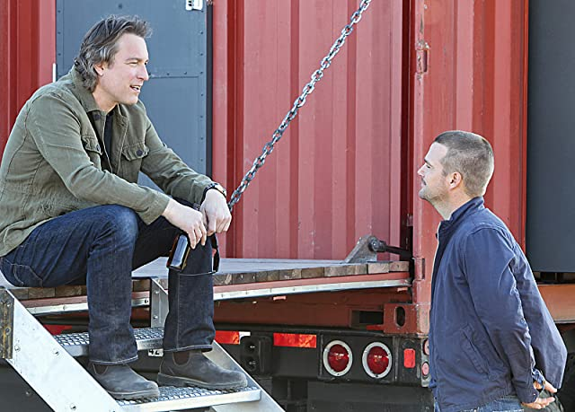 Chris O'Donnell and John Corbett in NCIS: Los Angeles (2009)