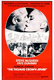 The Thomas Crown Affair (1968) Poster - Movie Forum, Cast, Reviews
