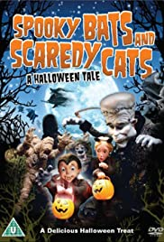 Spooky Bats and Scaredy Cats Poster