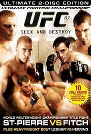 UFC 87: Seek and Destroy Poster